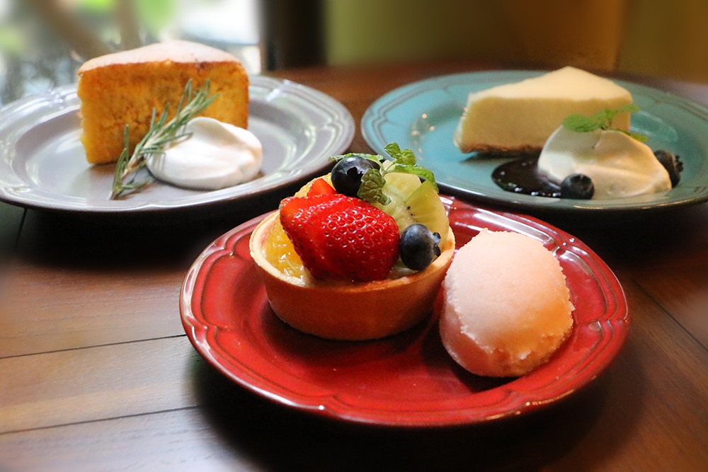TEA HOUSE はっぱ SWEETS